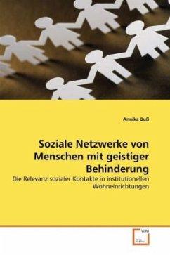 Soziale Netzwerke von Menschen mit geistiger Behinderung