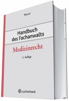 Medizinrecht / Handbuch des Fachanwalts