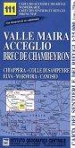 IGC Wanderkarte Valle Maira, Acceglio, Brec de Chambeyron