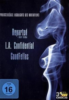 Good Fellas / L.A. Confidential / Departed - Unter Feinden, 3 DVDs