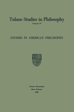 Studies in American Philosophy