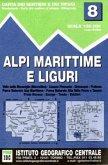 IGC Wanderkarte Alpi Marittime e Liguri