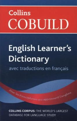 collins cobuild english learner 39 s dictionary with french. Black Bedroom Furniture Sets. Home Design Ideas