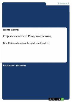 Objektorientierte Programmierung - Georgi, Julius