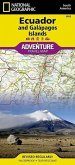 National Geographic Adventure Tarvel Map Ecuador and Galápagos Islands
