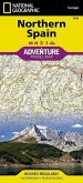 National Geographic Adventure Travel Map Northern Spain