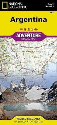 National Geographic Adventure Map Argentina - National Geographic Maps - Adventure