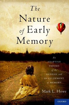 The Nature of Early Memory: An Adaptive Theory of the Genesis and Development of Memory - Howe, Mark L.