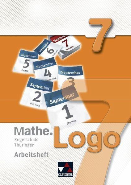 mathe logo 7 regelschule th ringen arbeitsheft. Black Bedroom Furniture Sets. Home Design Ideas