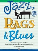 Jazz, Rags & Blues, for piano, w. Audio-CD