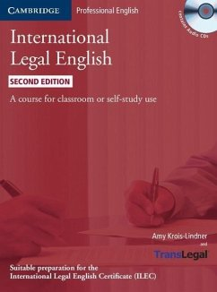 International Legal English Student´s Book with...