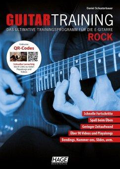Guitar Training Rock, m. Audio-CD u. DVD - Schusterbauer, Daniel