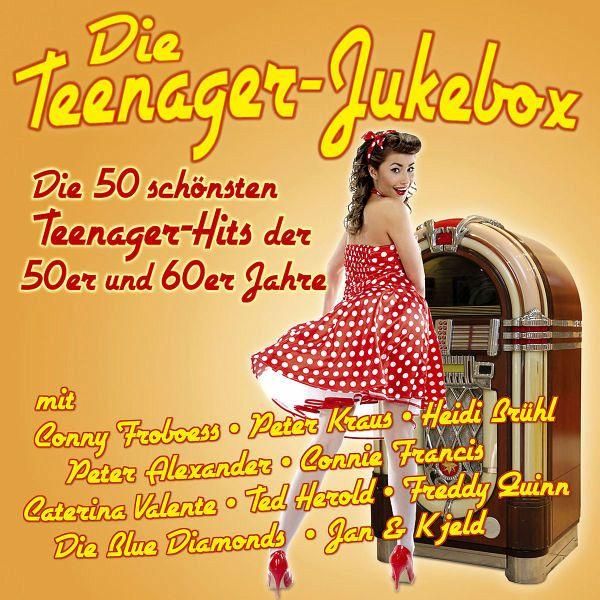 Die teenager jukebox 50 hits der 50er 60er jahre auf audio for Mobel 50er 60er 70er