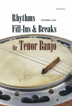 Rhythms, fill-Ins & Breaks für Tenor Banjo, m. Audio-CD