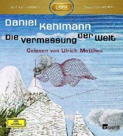 Die Vermessung der Welt, 1 MP3-CD - Kehlmann, Daniel