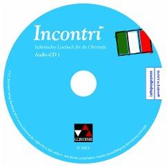 Audio-CD Collection, 2 Audio-CDs / Incontri - Fenner-Leeb, Dorothee; Fischer, Anne-Rose; Jäger, Andreas; Maurer, Isabella