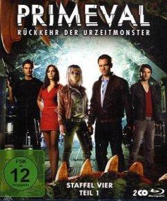 Primeval: Rückkehr der Urzeitmonster - Staffel 4, Teil 1 (2 Discs)