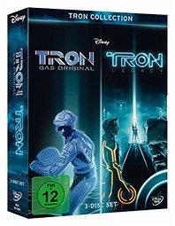 Tron Collection: Tron - Das Original / Tron: Legacy, 3 DVDs