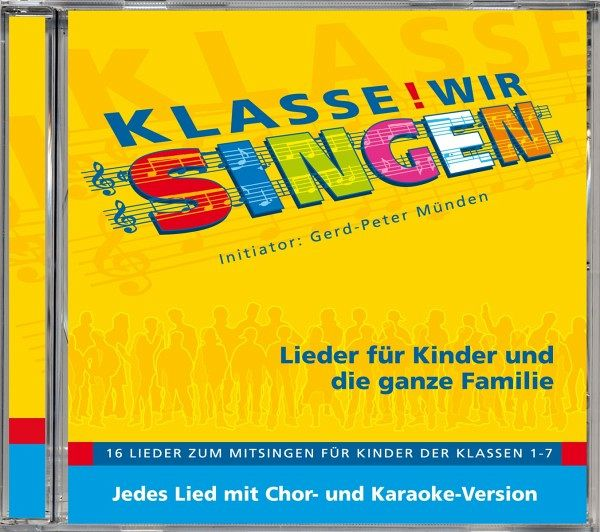 klasse wir singen chor karaoke version cd. Black Bedroom Furniture Sets. Home Design Ideas