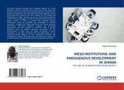 MESO-INSTITUTIONS AND ENDOGENOUS DEVELOPMENT IN GHANA