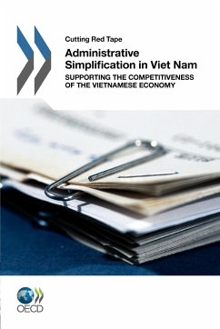 Cutting Red Tape Administrative Simplification in Viet Nam: Supporting the Competitiveness of the Vietnamese Economy - Oecd Publishing