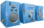 Stereo Music Center MCD04 - Kids blue