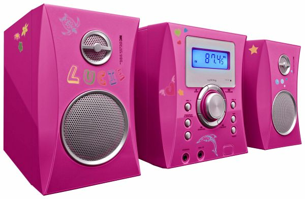 Stereo Music Center MCD04 - Kids pink