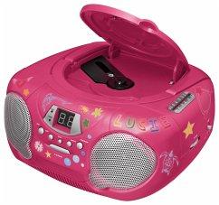 Tragbares CD/Radio CD38 - Kids pink