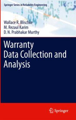 Warranty Data Collection and Analysis - Blischke, Wallace R.; Karim, M. Rezaul; Murthy, Dodderi Narshima Prabhakar