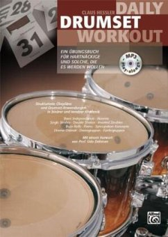Daily Drumset Workout, m. MP3-CD