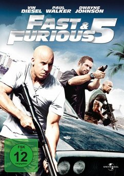 Fast & Furious Five, 1 DVD - Vin Diesel,Paul Walker,Dwayne Johnson