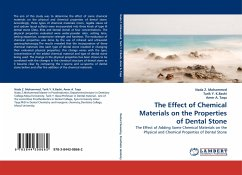 The Effect of Chemical Materials on the Properties of Dental Stone