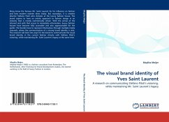 The visual brand identity of Yves Saint Laurent