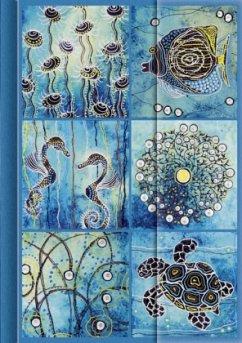 Premium Notes Big, Ozean - Mosaik