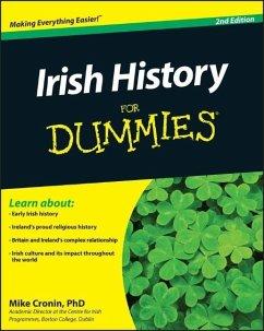Irish History For Dummies - Cronin, Mike