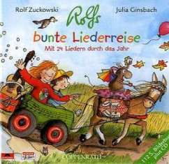 Rolfs bunte Liederreise, m. Audio-CD - Zuckowski, Rolf; Ginsbach, Julia