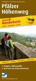 PublicPress Wanderkarte Pfälzer Höhenweg, 14 Teilkarten