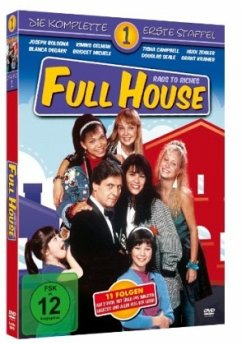 Full House - Rags to Riches, Die komplette 1. Staffel (3 Discs) - Diverse