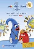 1. Schuljahr, Lesen- und Schreibenlernen mit Sil und Ben, 1 CD-ROM / ABC der Tiere