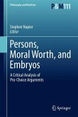 Persons, Moral Worth, and Embryos