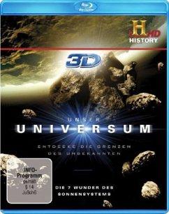 Unser Universum - Die 7 Wunder des Sonnensystems 3D-Edition