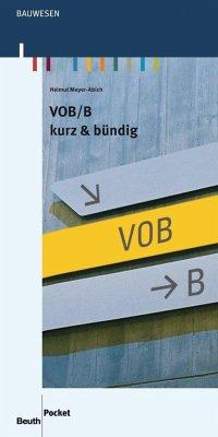 VOB/B - Meyer-Abich, Helmut