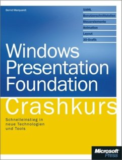 Windows Presentation Foundation Crashkurs - Marquardt, Bernd
