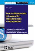Print & Mobilemedia bei regionalen Tageszeitungen in Deutschland