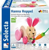Selecta 62023 - Nachzieh-Hase, Hanna Hoppel, Holz, 13 cm