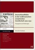 Deutschlandbilder in der weißrussischen sowjetischen Gesellschaft 1919-1941
