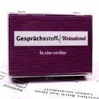 Pegasus KYL41008 - Gesprächsstoff Weinabend, Kartenspiel