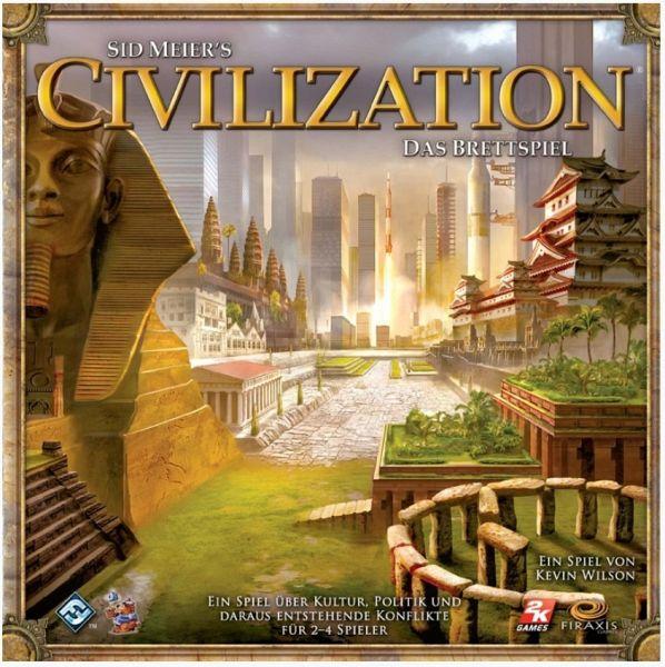 Asmodee FFGD0101 - Civilization, Brettspiel, deutsche Version