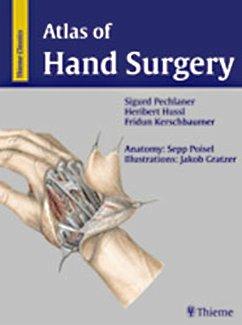 Atlas of Hand Surgery (eBook, PDF) - Pechlaner, Sigurd; Hussl, Heribert; Kerschbaumer, Fridun