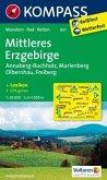 Kompass Karte Mittleres Erzgebirge